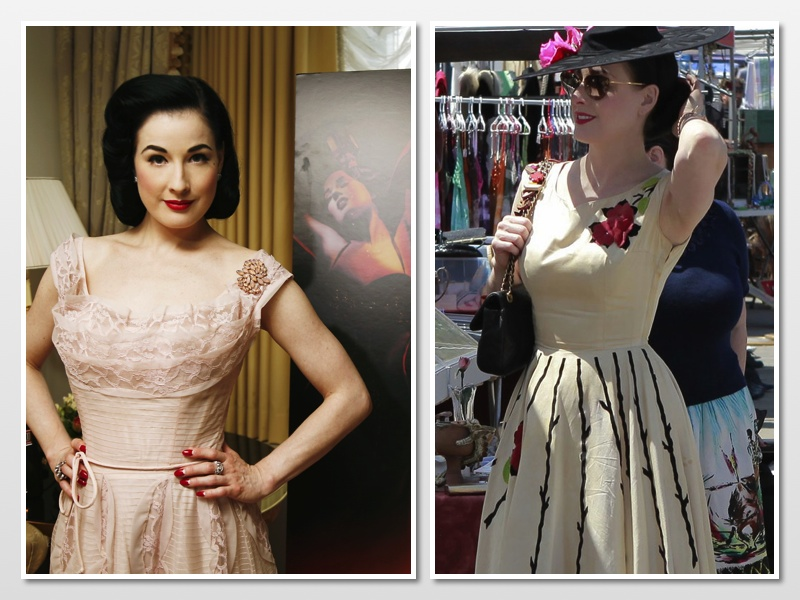 Teese von dita style icon advise to wear in summer in 2019